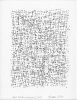 Schnittstellenanalyse 3, 2013, Bleistiftzeichnung, ca. 21 x 27 cm