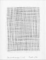 Schnittstellenanalyse 9, 2013, Bleistiftzeichnung, ca. 21 x 27 cm
