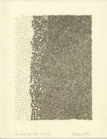 Wie Sand am Meer 10, 2014, Bleistiftzeichnung, ca. 21 x 27 cm