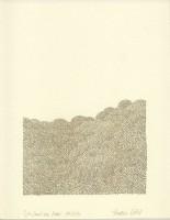 Wie Sand am Meer 19, 2014, Bleistiftzeichnung, ca. 21 x 27 cm