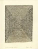 Wie Sand am Meer 20, 2014, Bleistiftzeichnung, ca. 21 x 27 cm