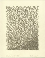 Wie Sand am Meer 9, 2014, Bleistiftzeichnung, ca. 21 x 27 cm